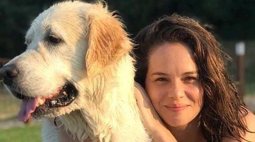 Luz Cipriota, cada vez más unida a Andrés Velencoso y a su perro