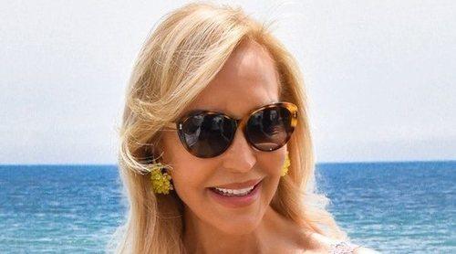 Carmen Lomana celebra su cumpleaños radiante en Marbella y de concierto