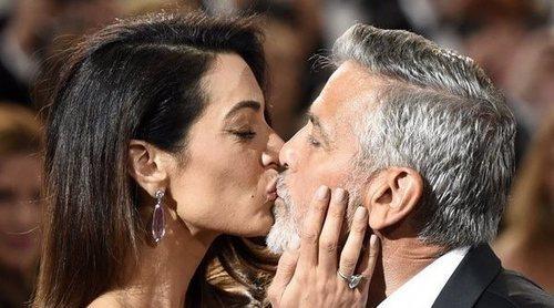 George Clooney disfruta de una cita romántica con Amal Alamuddin tras su accidente de moto