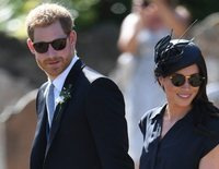 El Príncipe Harry y Meghan Markle vuelven a eclipsar a Eugenia de York y Jack Brooksbank