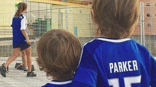 Martín y Lucas, los mejores apoyos de Iker Casillas en la Supercopa de Portugal