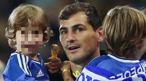 Así celebró Iker Casillas junto a Martín y Lucas la victoria de Oporto en la Supercopa de Portugal