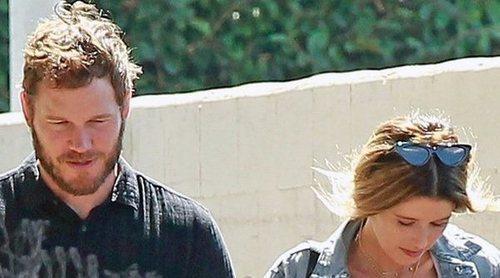 Chris Pratt y Katherine Schwarzenegger van juntos a misa