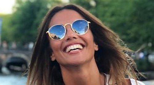 Lara Álvarez disfruta de sus vacaciones de verano lejos de la playa