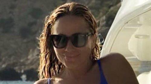 El posado más sexy de Marta Sánchez: luce figura de infarto durante sus vacaciones en Palma