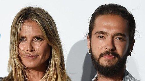 Heidi Klum y Tom Kaulitz disfrutan de su primer verano como pareja en aguas del Mediterráneo