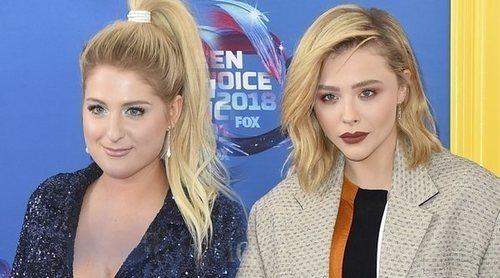 Chloë Moretz o Meghan Trainor entre los ídolos adolescentes que no se perdieron los Teen Choice Awards 2018