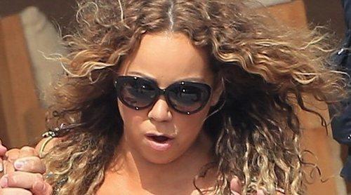 Un tiburón aterroriza a Mariah Carey durante sus vacaciones: 'Tengo miedo y estoy alterada'