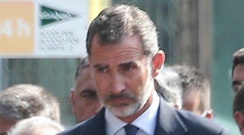 Los Reyes Felipe y Letizia asisten al acto en recuerdo a las víctimas de los atentados de Barcelona y Cambrils