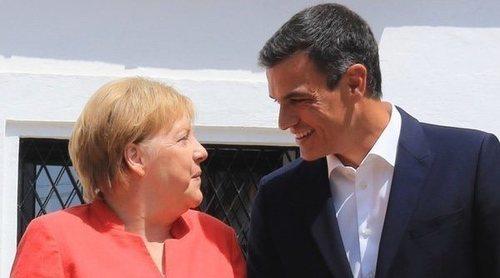 Los hermanos Medina Sidonia, enfadados por la reunión Pedro Sánchez y Angela Merkel en 'su palacio'