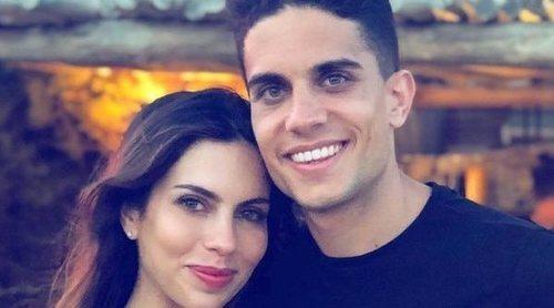 Melissa Jiménez y Marc Bartra celebran el tercer cumpleaños de su hija Gala