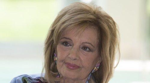 María Teresa Campos reconoce las secuelas que le ha dejado el ictus en 'Las Campos'