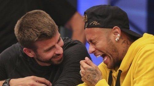 Gerard Piqué y Neymar se reencuentran en un torneo benéfico de póker