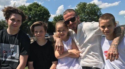 Romeo Beckham celebra su 16 cumpleaños junto a su familia en Francia