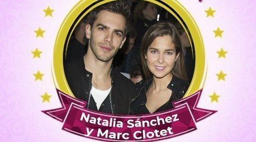 Natalia Sánchez y Marc Clotet, celebs de la semana por anunciar que serán padres en 2019