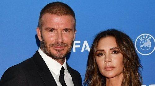David y Victoria Beckham vuelven a pisar una alfombra roja después de tres años
