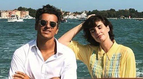 Paz Vega y Orson Salazar disfrutan de la dolce vita en el Festival de Cine de Venecia 2018