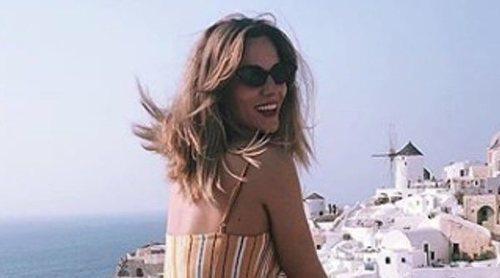 Edurne apura el verano de vacaciones 'de soltera' en Grecia
