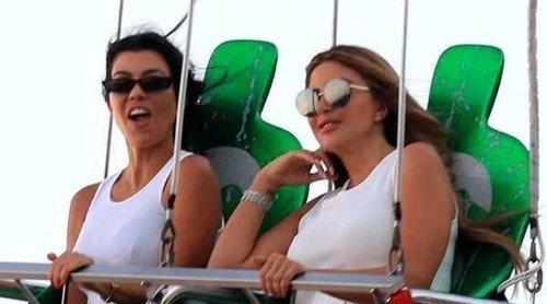 El día de feria de Kourtney Kardashian que podría haber acabado con un terrible encuentro