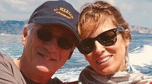 Richard Gere celebra su cumpleaños con Alejandra Silva en Italia a pocos meses de ser padres