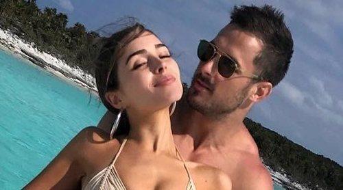 Olivia Culpo desea buena suerte a Danny Armendola en su nueva temporada en los Miami Dolphins