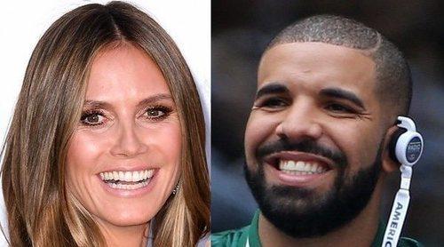Drake intentó ligar con Heidi Klum pero la modelo le ignoró