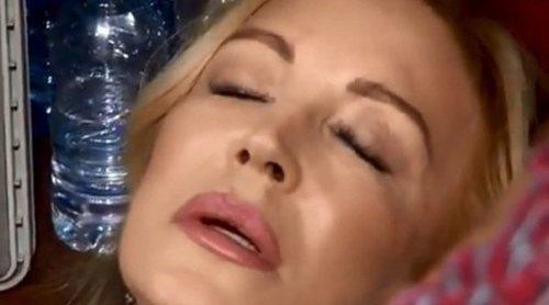 Carmen Lomana se desmaya en la prueba de eliminación de 'Masterchef Celebrity 3': 'Qué horror'