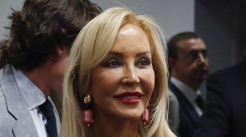 Carmen Lomana acude a un acto político de Pablo Casado
