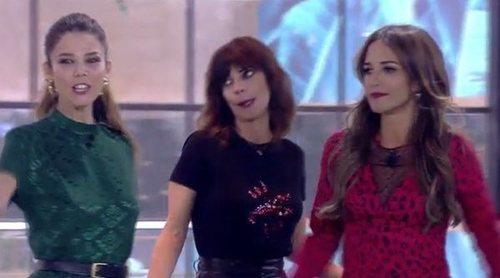 Así fue la entrada de Paula Echevarría, Maribel Verdú y Juana Acosta en 'GH VIP 6'