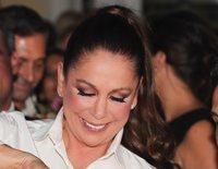 Isabel Pantoja reaparece tras su llamada a 'Sálvame' con sustos, rezos e ignorando la nominación de Chabelita