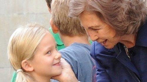 La Reina Sofía y su nieta Irene Urdangarin, pilladas de compras 'low cost' por Madrid
