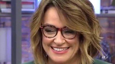 La felicidad de Toñi Moreno por la publicación del primer número de la revista de 'Viva la vida'