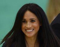 La complicidad de Meghan Markle y el Príncipe Harry entre pases de balón en unos premios deportivos