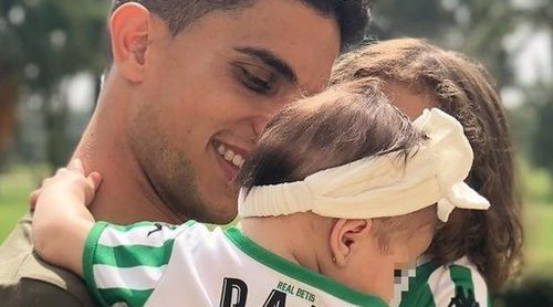 Bartra celebra el quinto mes de su hija Abril: 'Pensé que no podría llegar a querer tanto a otra princesita'
