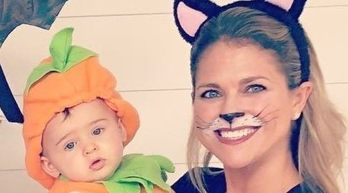 Adrienne de Suecia celebra su primer Halloween junto a Magdalena de Suecia y los Príncipes Leonor y Nicolás