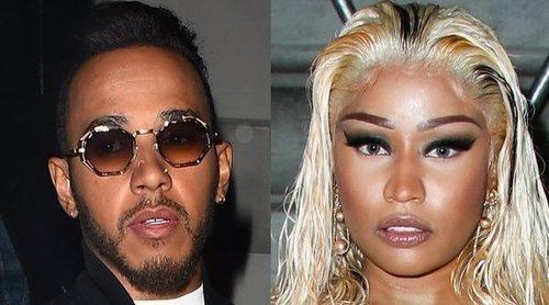 Lewis Hamilton y Nicki Minaj aumentan los rumores de romance al viajar juntos a Dubai