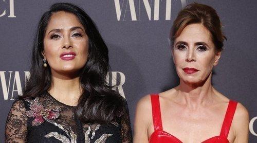 Salma Hayek, Ágatha Ruiz de la Prada, los Javis... Nadie se ha querido perder la fiesta de Vanity Fair 2018