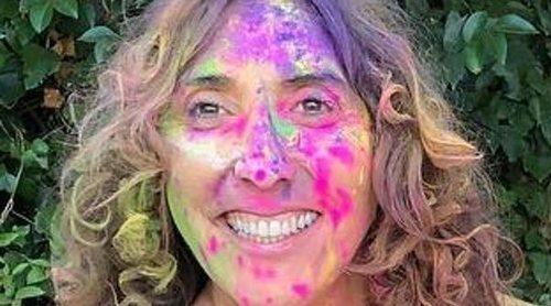 Paz Padilla celebra su 49 cumpleaños rodeada de amigos, familiares y mucho color