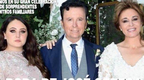 Rocío Flores, la gran protagonista de la portada de la boda de José Ortega Cano y Ana María Aldón