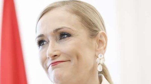Cristina Cifuentes defiende a Carlota Corredera de los haters que critican su figura: 'Estás estupenda'