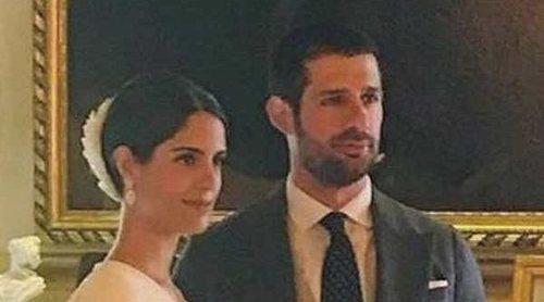 Los estilismos del Duque de Huéscar y Sofía Palazuelo el día de su boda