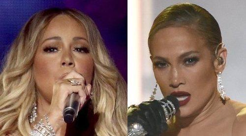 Jennifer Lopez y Mariah Carey deslumbran en las actuaciones de los American Music Awards 2018