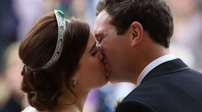 Así ha sido la boda de Eugenia de York y Jack Brooksbank: amor, tradición y mucho viento