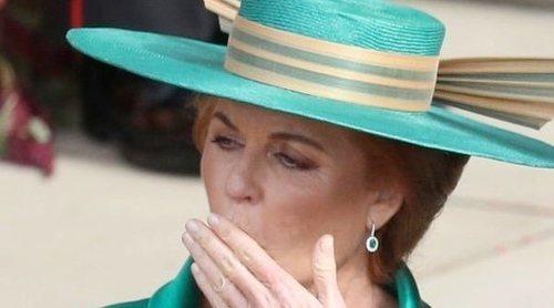 La broma de Sarah Ferguson en la boda de Eugenia de York y Jack Brooksbank que puede molestar a la Reina Isabel
