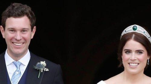 Las fotos oficiales de la boda de Eugenia de York y Jack Brooksbank: dos vestidos, la sobrina traviesa y una reconciliación