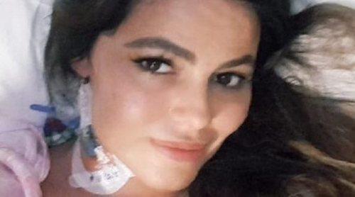 Marisa Jara enseña la cicatriz de su operación: