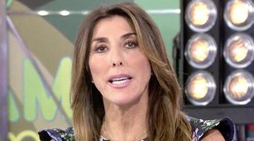 LLuvia de críticas a Paz Padilla y los colaboradores de 'Sálvame' por su trato a la madre de Miriam Saavedra