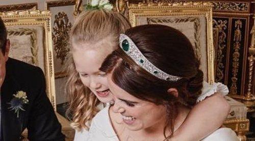 La Princesa Carlota y Savannah Phillips, las niñas de los ojos de Eugenia de York