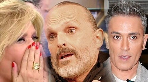 Lydia Lozano deja caer en 'Sálvame' que Miguel Bosé se enamoró de Kiko Hernández en cuanto le conoció