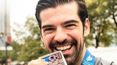 Miguel Ángel Muñoz acude al hospital para recuperarse tras correr una maratón lesionado